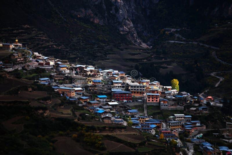 Cenário de Zhagana em Gannan, ` s Gansu de China fotografia de stock royalty free