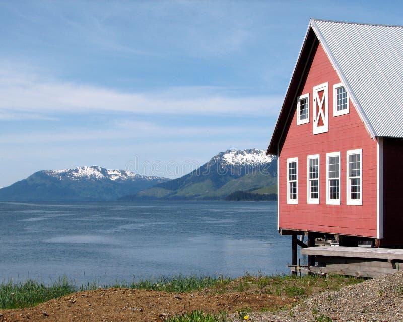 Cenário do Alasca fotografia de stock