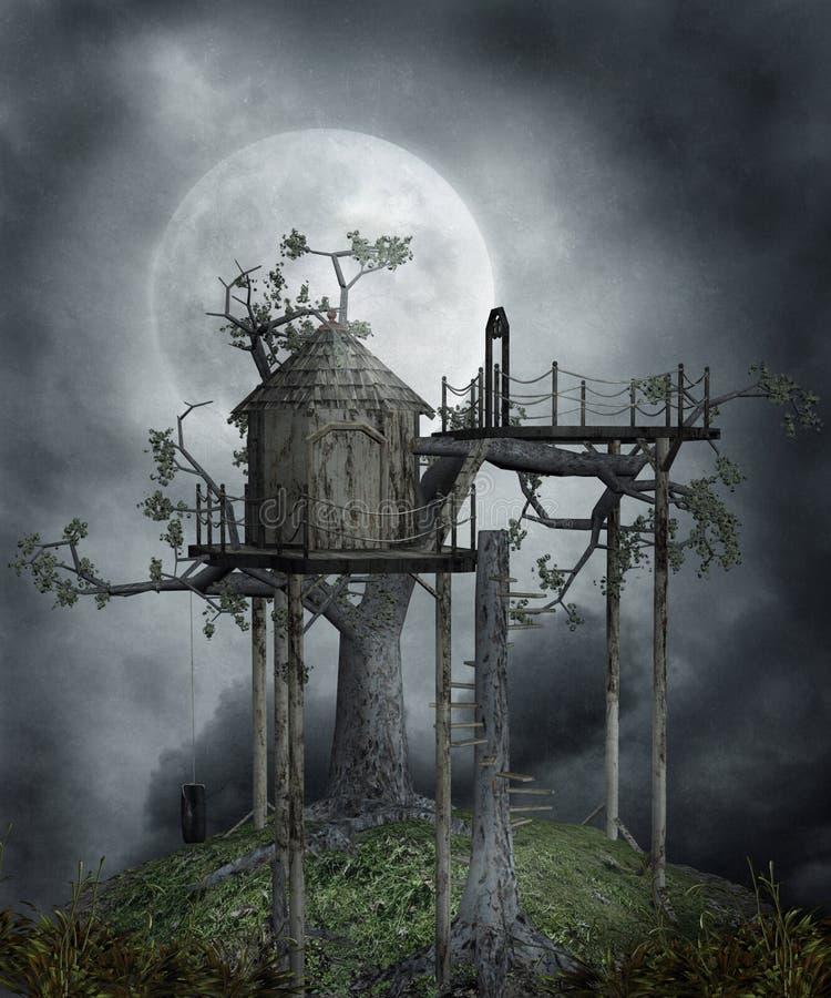 Cenário gótico 103 ilustração stock