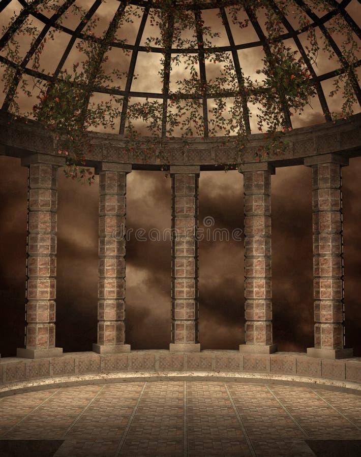 Cenário gótico 34 ilustração royalty free