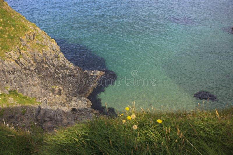 Cenário litoral perto de Carrick um Rede imagens de stock