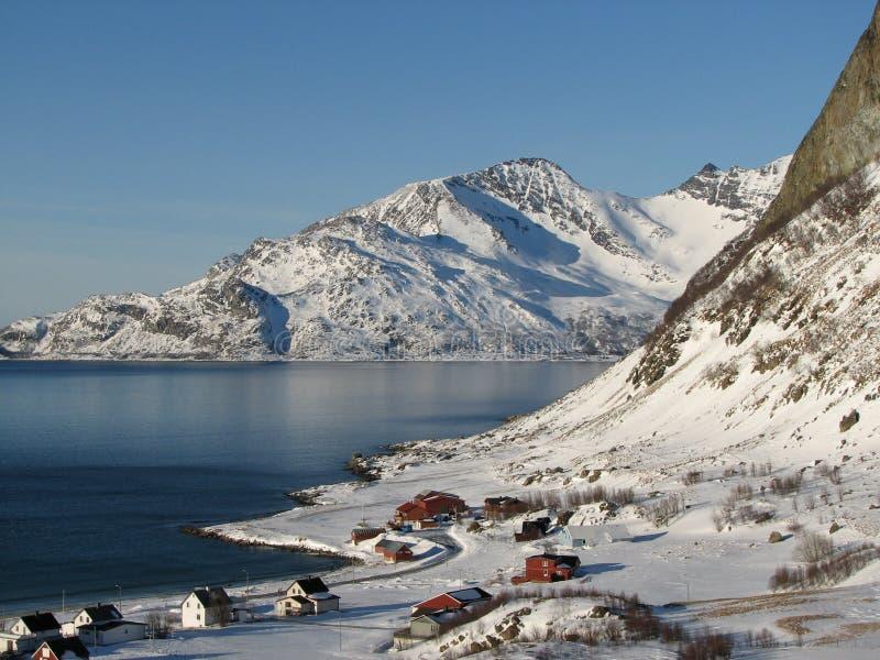 Cenário norueguês   foto de stock royalty free