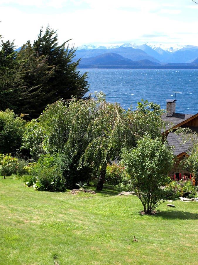 Cenário Patagonian imagem de stock royalty free