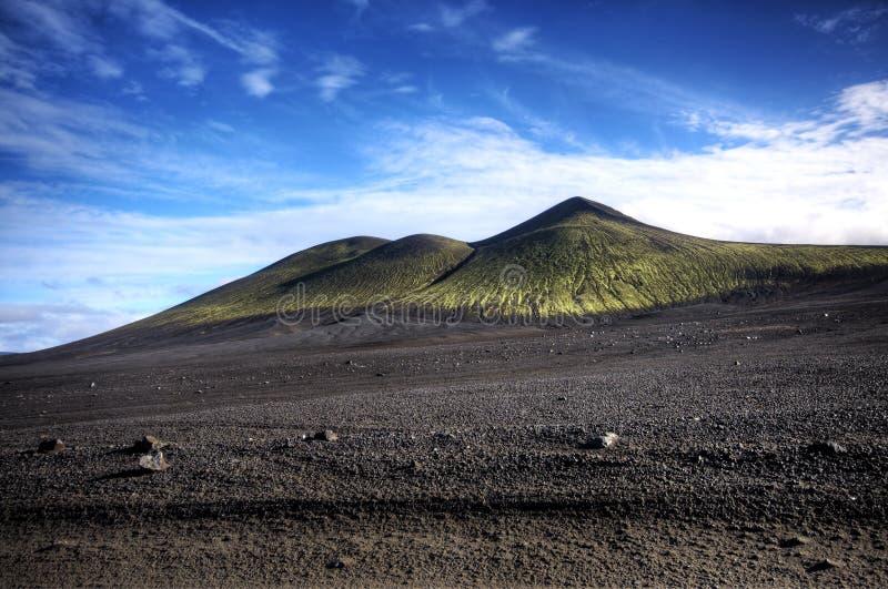 Cenário vulcânico extraordinário fotografia de stock royalty free