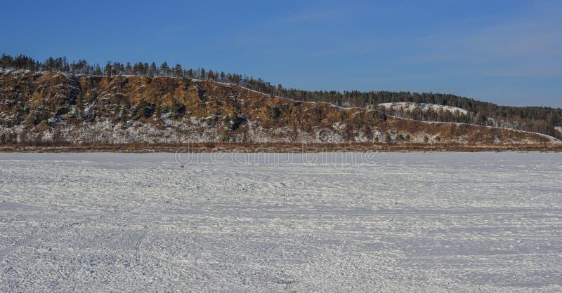 Cen?rio do inverno de Harbin, China fotografia de stock
