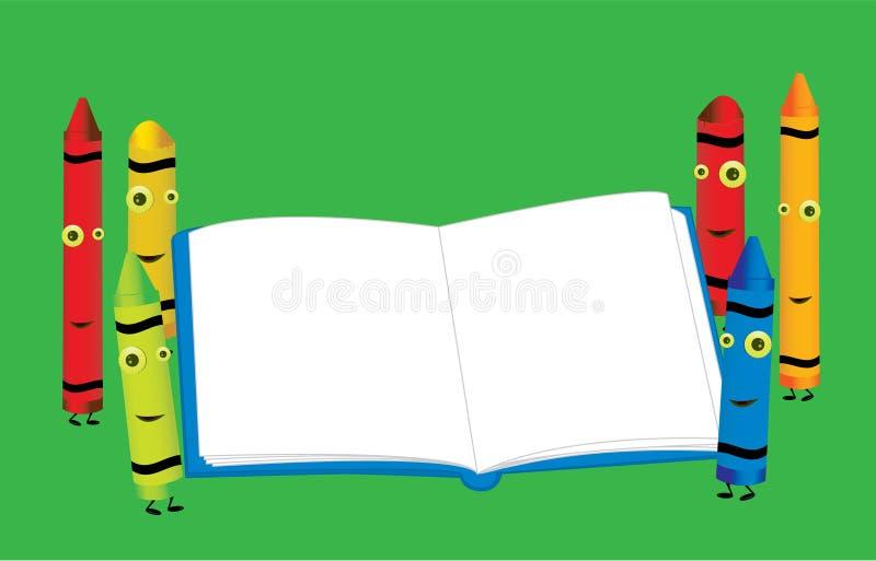 Download Cena 6 Do Caráter Do Pastel Ilustração do Vetor - Ilustração de cores, página: 10052498