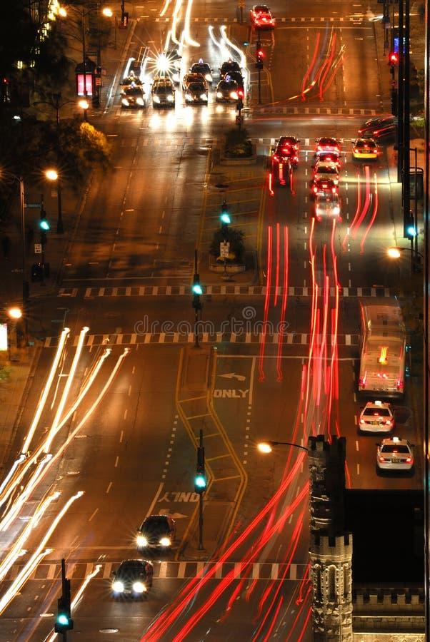 Cena aérea da rua fotos de stock royalty free