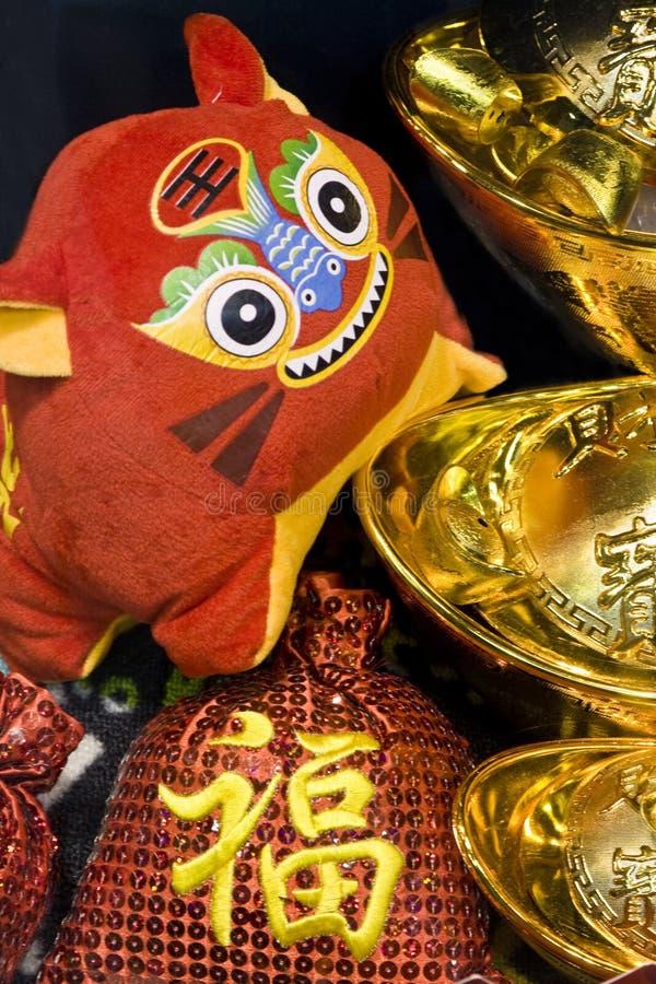 Download Cena chinesa do ano novo foto de stock. Imagem de cumprimentos - 12811630