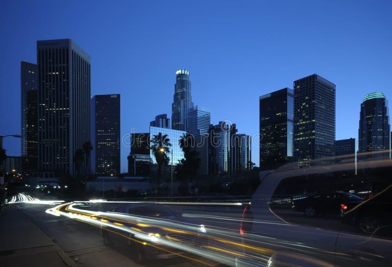 Cena da rua de Los Angeles imagens de stock royalty free