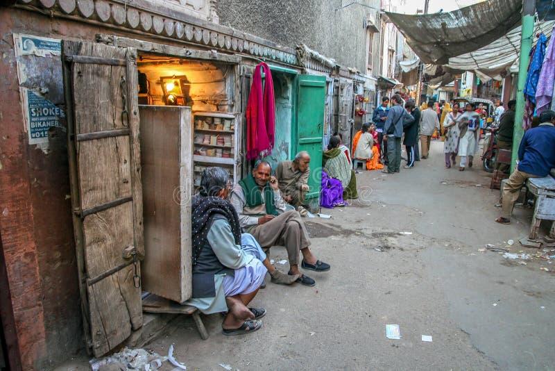Cena da rua de Quetta fotos de stock
