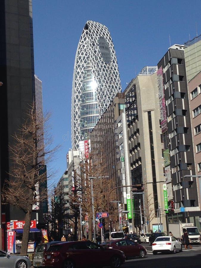 Cena da rua de Shinjuku fotos de stock