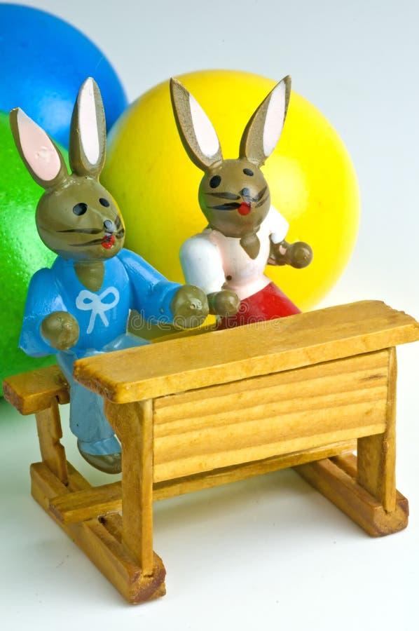 Cena de Easter fotos de stock