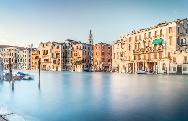 Cena de Grand Canal, Veneza foto de stock royalty free