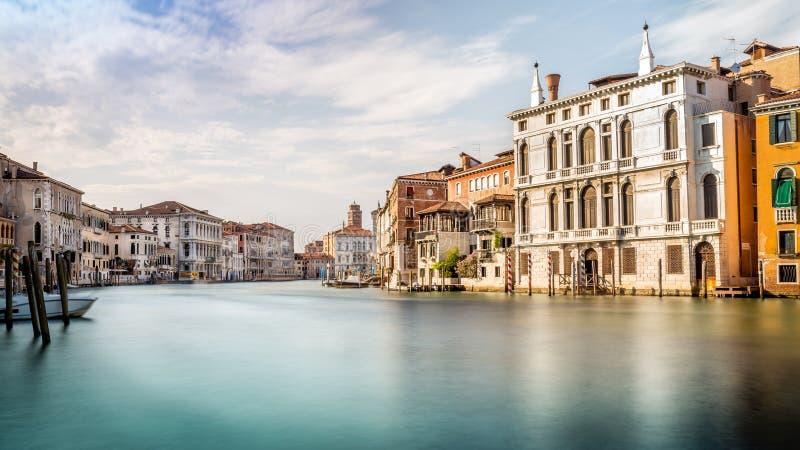 Cena de Grand Canal, Veneza fotos de stock