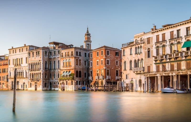 Cena de Grand Canal, Veneza imagem de stock