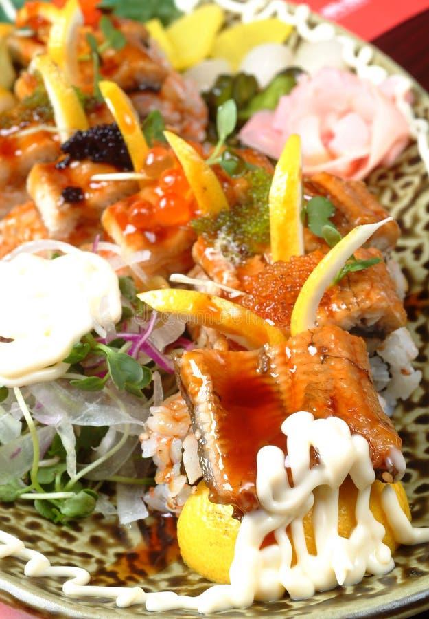 Cena de los mariscos imagen de archivo libre de regalías