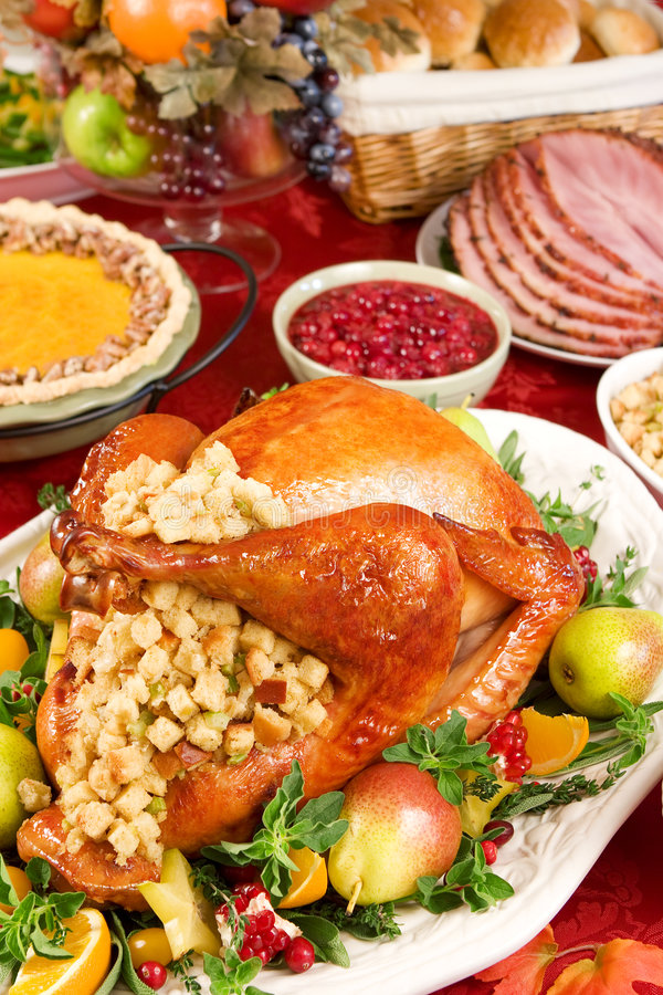 Cena de Turquía foto de archivo libre de regalías