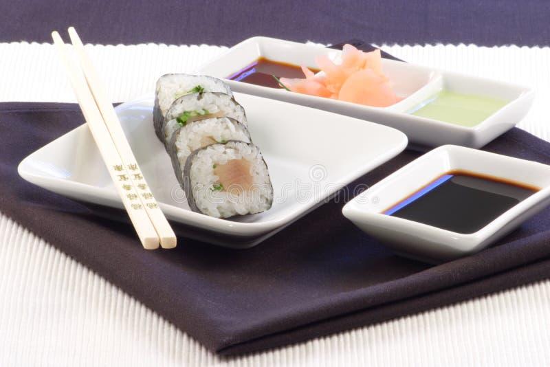 Cena del sushi foto de archivo libre de regalías