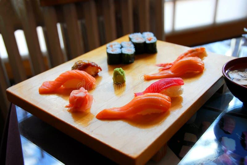 Cena del sushi fotos de archivo