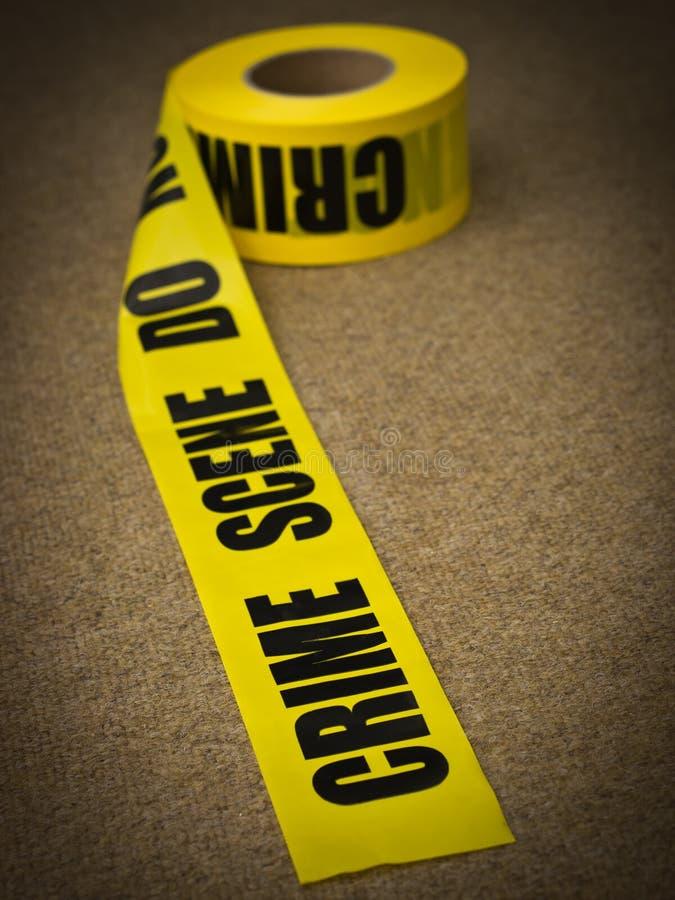Cena Do Crime Fotografia de Stock