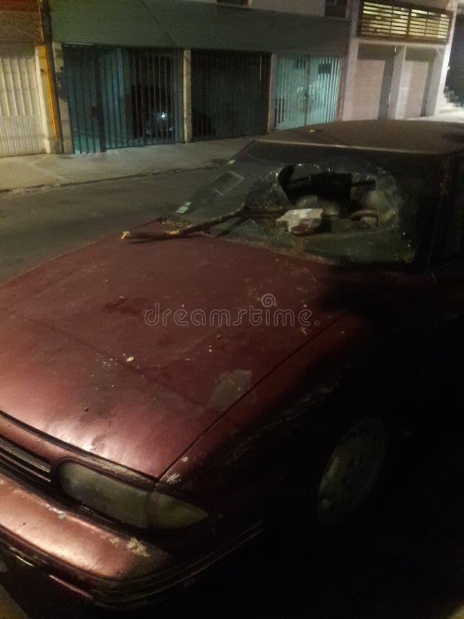 Cena do crime nas ruas de Cidade do México imagem de stock