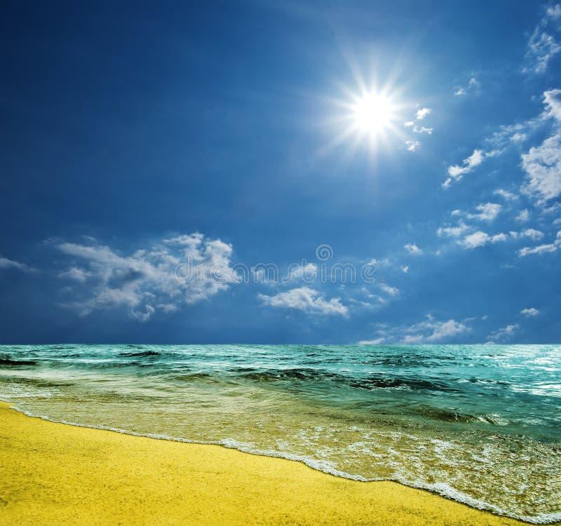 Cena do mar do verão imagem de stock royalty free