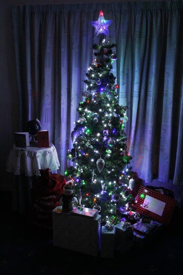 Cena do Natal fotos de stock