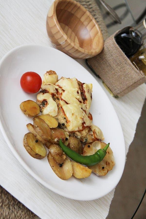 Cena francesa caliente imagen de archivo