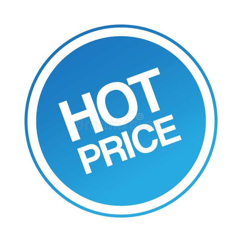 cena gorący majcher ilustracji