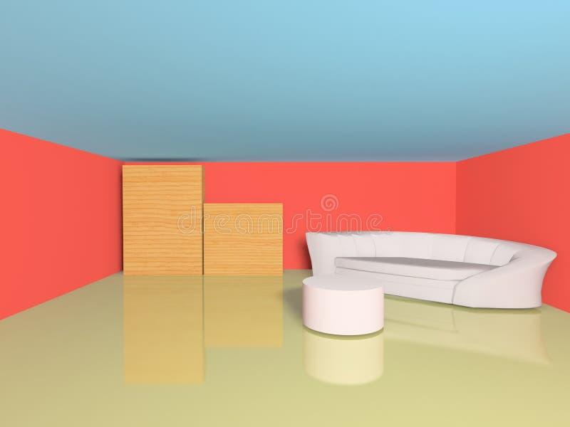 Cena interior imagem de stock royalty free
