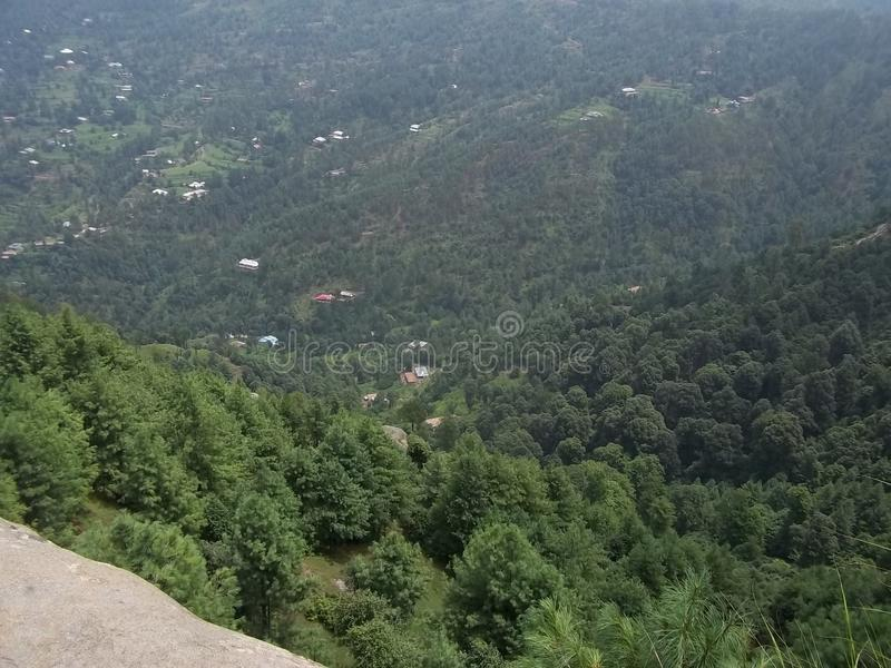 Cena natural atrativa de Sudhnoti Kashmir fotos de stock