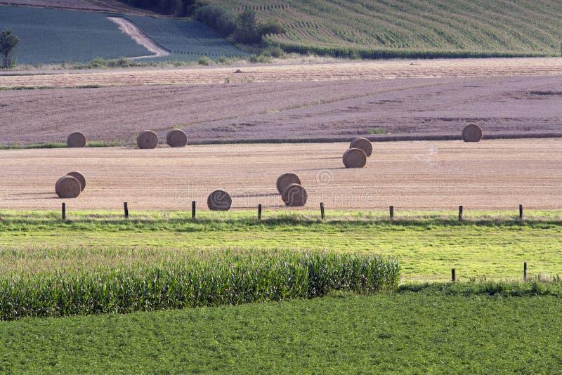 Cena rural em França foto de stock