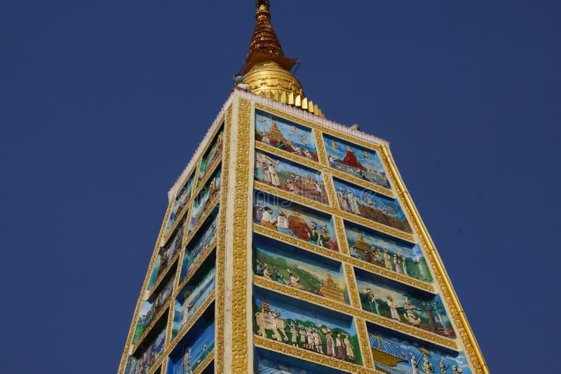Cenas da vida da Buda imagens de stock