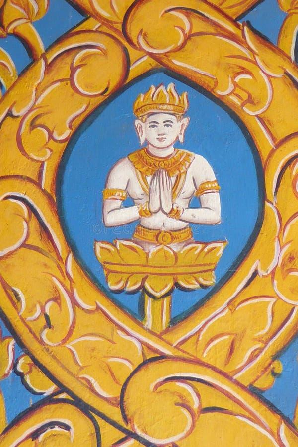 Cenas da vida da Buda fotografia de stock royalty free