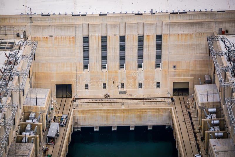 cenas em torno da barragem Hoover e do Mike O 'Callaghan - Pat Tillman Mem foto de stock royalty free