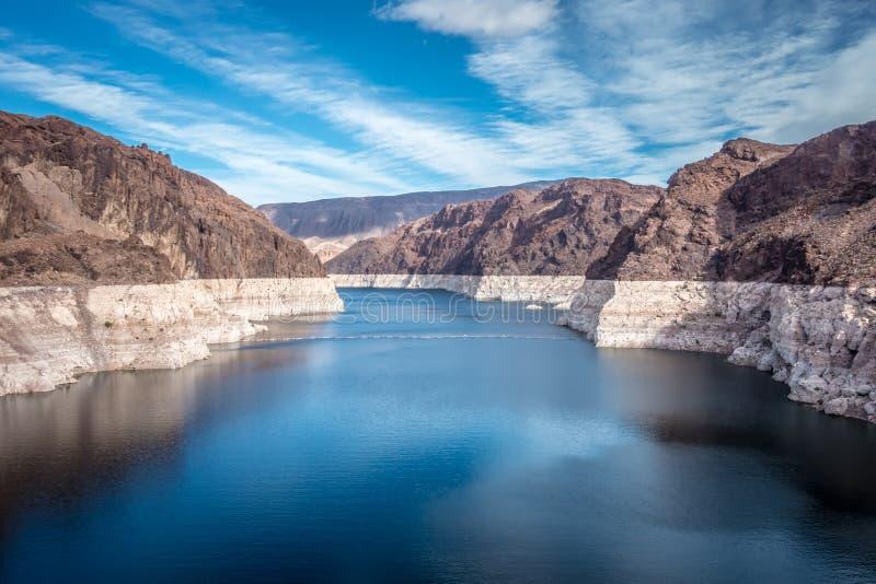cenas em torno da barragem Hoover e do Mike O 'Callaghan - Pat Tillman Mem fotografia de stock royalty free