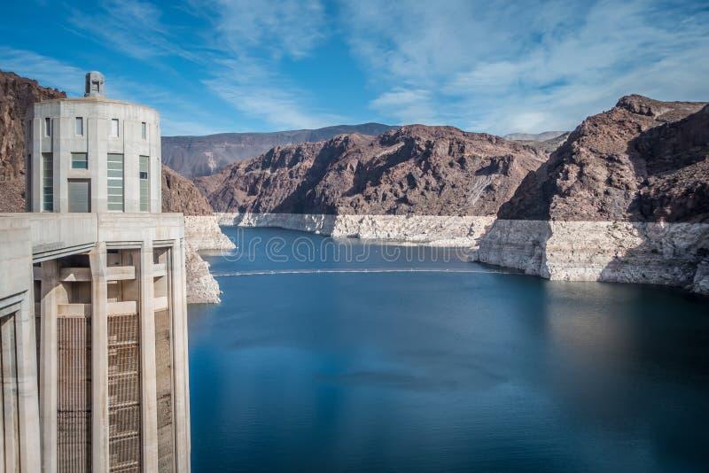 cenas em torno da barragem Hoover e do Mike O 'Callaghan - Pat Tillman Mem fotos de stock royalty free