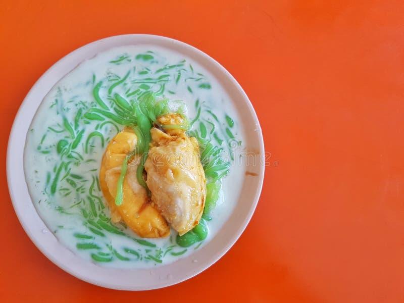 Cendol Durian stock fotografie