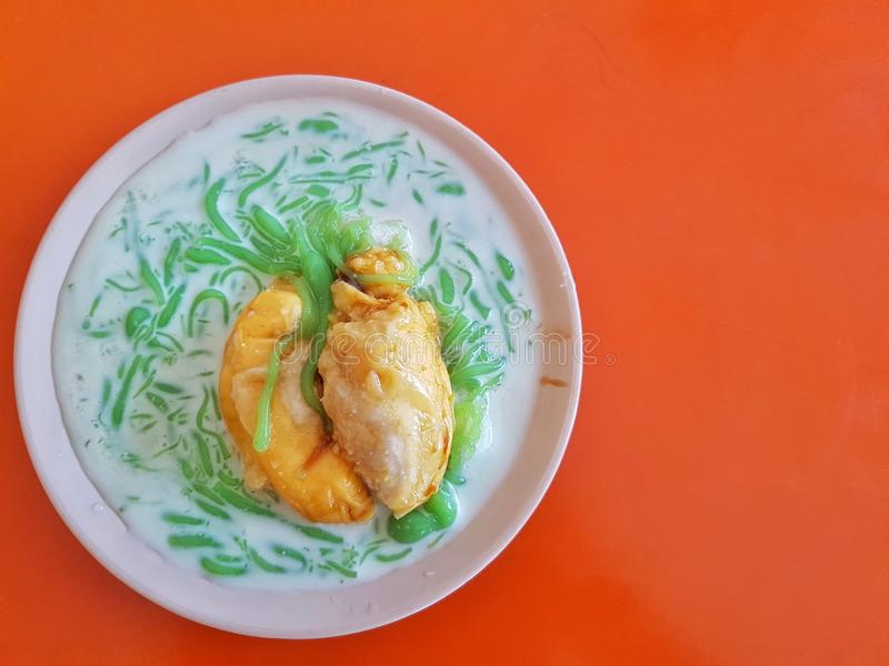 Cendol Durian stock photography