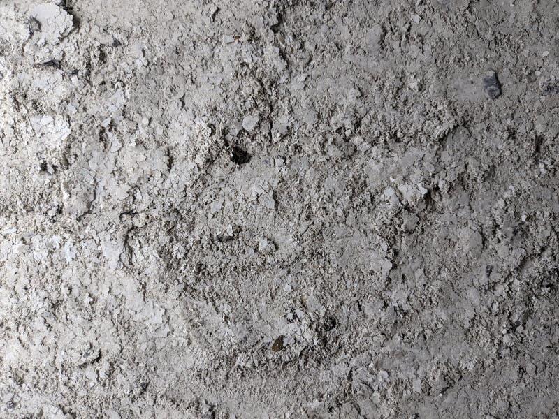 Ceniza gris de la textura del fondo del horno, escoria, cenizas grises del papel foto de archivo