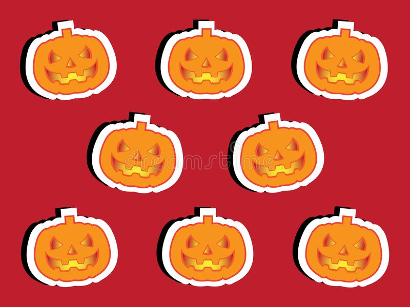 Cenni storici del partito di Halloween immagini stock