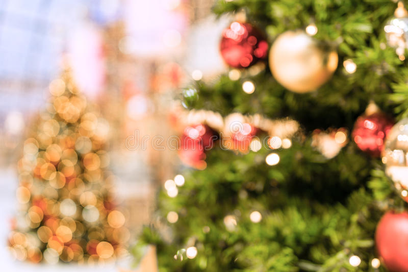 Cenni storici dell'albero di Natale fotografia stock