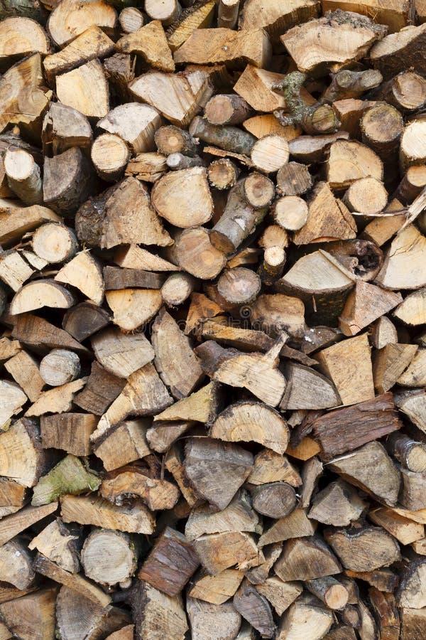 Cenni storici della legna da ardere fotografia stock libera da diritti