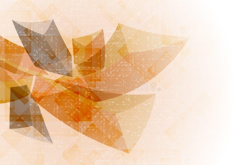 Cenni storici geometrici astratti. illustrazione vettoriale