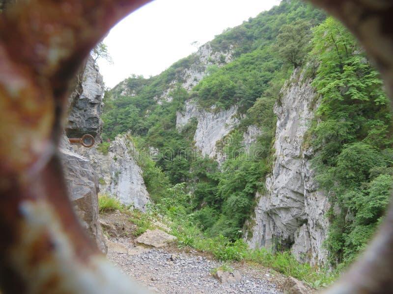 Cenny wizerunek wysoka góra krajobraz w Hiszpania obraz stock
