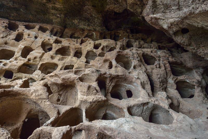 Cenobio de Valeron Caves on Grand Canary Island, Spain. Cenobio de Valeron Caves on Grand Canary Island royalty free stock photos