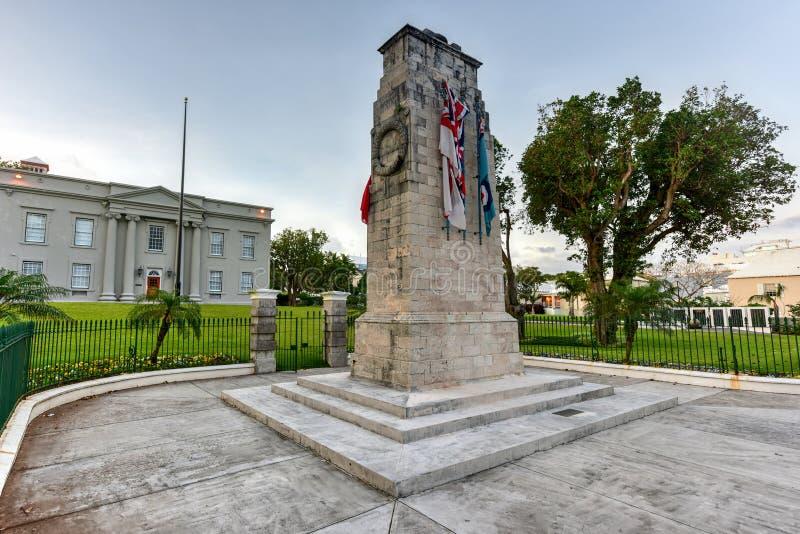 Cenotáfio de Bermuda imagens de stock