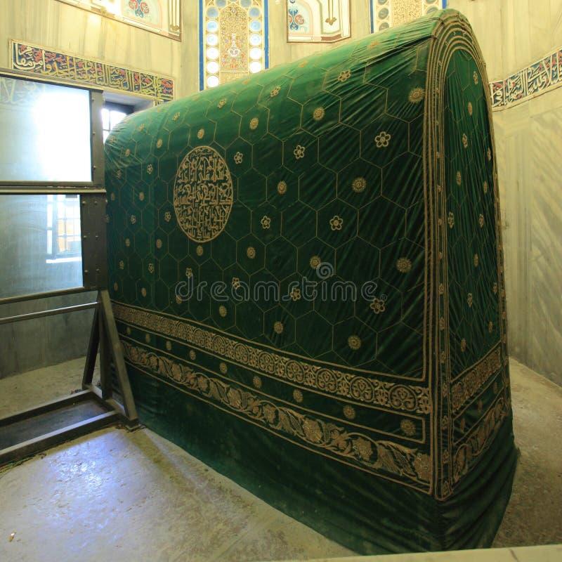 Cenotafio de Abraham, cueva de patriarcas imagenes de archivo