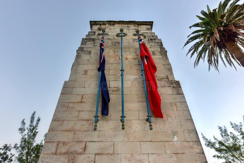 Cenotafio de Bermudas imagen de archivo libre de regalías