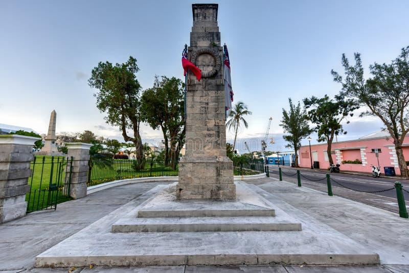 Cenotafio de Bermudas fotografía de archivo libre de regalías
